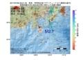 地震震源マップ:2017年07月06日 09時01分 新島・神津島近海 M2.7
