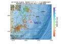 地震震源マップ:2017年07月06日 19時38分 福島県沖 M2.0