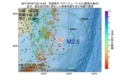 地震震源マップ:2017年07月07日 00時15分 宮城県沖 M2.5