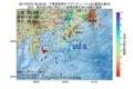 地震震源マップ:2017年07月07日 00時33分 千葉県南東沖 M2.8