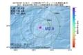 地震震源マップ:2017年07月07日 15時19分 八丈島近海 M2.9