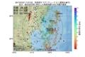 地震震源マップ:2017年07月07日 17時27分 宮城県沖 M3.1