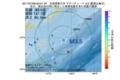 地震震源マップ:2017年07月08日 00時01分 北海道東方沖 M3.5
