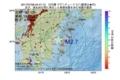 地震震源マップ:2017年07月08日 04時47分 日向灘 M2.7