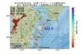 地震震源マップ:2017年07月08日 05時23分 日向灘 M2.9