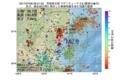 地震震源マップ:2017年07月08日 09時21分 茨城県北部 M2.8
