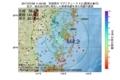 地震震源マップ:2017年07月08日 11時00分 宮城県沖 M4.2