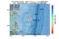 地震震源マップ:2017年07月08日 13時48分 三陸沖 M3.9