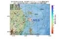 地震震源マップ:2017年07月08日 15時42分 岩手県沖 M3.5