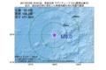 地震震源マップ:2017年07月08日 19時34分 鳥島近海 M5.0