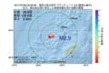 地震震源マップ:2017年07月09日 00時00分 奄美大島北西沖 M2.9