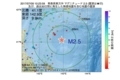 地震震源マップ:2017年07月09日 10時23分 青森県東方沖 M2.5