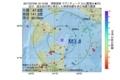 地震震源マップ:2017年07月09日 12時13分 津軽海峡 M3.4