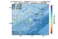 地震震源マップ:2017年07月09日 14時25分 北海道東方沖 M2.6