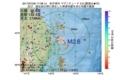 地震震源マップ:2017年07月09日 17時38分 岩手県沖 M2.6