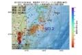 地震震源マップ:2017年07月10日 02時38分 福島県沖 M3.2