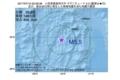 地震震源マップ:2017年07月10日 05時09分 小笠原諸島西方沖 M5.5