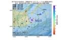 地震震源マップ:2017年07月10日 09時06分 国後島付近 M3.0