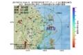 地震震源マップ:2017年07月10日 13時04分 岩手県沿岸北部 M3.0