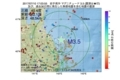 地震震源マップ:2017年07月10日 17時03分 岩手県沖 M3.5