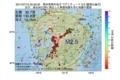 地震震源マップ:2017年07月10日 20時23分 熊本県熊本地方 M2.5