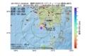 地震震源マップ:2017年07月11日 03時09分 薩摩半島西方沖 M2.5