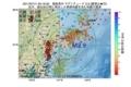 地震震源マップ:2017年07月11日 05時16分 福島県沖 M2.9