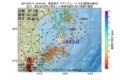 地震震源マップ:2017年07月11日 10時44分 福島県沖 M3.8