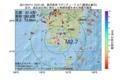 地震震源マップ:2017年07月11日 12時01分 鹿児島湾 M2.7