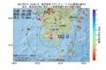 地震震源マップ:2017年07月11日 12時05分 鹿児島湾 M2.9