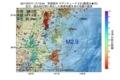 地震震源マップ:2017年07月11日 17時13分 茨城県沖 M2.9