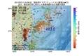 地震震源マップ:2017年07月11日 23時28分 福島県沖 M3.0