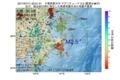 地震震源マップ:2017年07月11日 23時51分 千葉県東方沖 M2.5