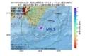 地震震源マップ:2017年07月12日 00時56分 和歌山県南方沖 M4.1