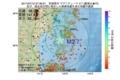 地震震源マップ:2017年07月12日 07時36分 宮城県沖 M2.7
