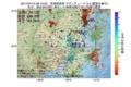 地震震源マップ:2017年07月12日 09時13分 茨城県南部 M3.4