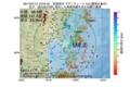 地震震源マップ:2017年07月12日 10時54分 宮城県沖 M4.8