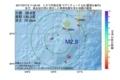地震震源マップ:2017年07月12日 11時24分 トカラ列島近海 M2.8