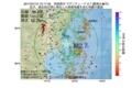 地震震源マップ:2017年07月12日 15時17分 宮城県沖 M2.7
