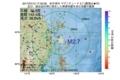 地震震源マップ:2017年07月12日 17時33分 岩手県沖 M2.7
