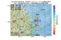 地震震源マップ:2017年07月13日 03時20分 岩手県沖 M2.5