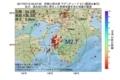 地震震源マップ:2017年07月13日 03時37分 和歌山県北部 M2.7
