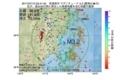 地震震源マップ:2017年07月13日 03時41分 宮城県沖 M3.2
