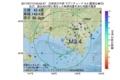 地震震源マップ:2017年07月13日 05時52分 日高地方中部 M3.4