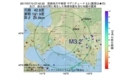 地震震源マップ:2017年07月13日 07時45分 胆振地方中東部 M3.2