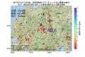 地震震源マップ:2017年07月13日 11時25分 長野県南部 M2.6