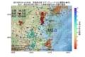 地震震源マップ:2017年07月13日 12時16分 茨城県北部 M3.0