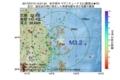 地震震源マップ:2017年07月13日 15時21分 岩手県沖 M3.2