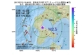 地震震源マップ:2017年07月13日 15時56分 渡島地方北部 M2.5
