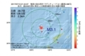 地震震源マップ:2017年07月13日 21時44分 奄美大島北西沖 M3.1